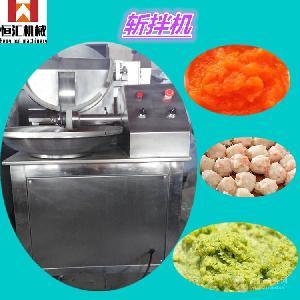ZB-40斩拌机构造原理和使用方法