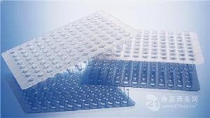 實驗室耗材0.1ml透明無裙邊96孔PCR板