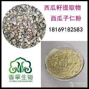 西瓜籽粉价格小西瓜籽提取物厂家供应西瓜子仁纯粉批发瓜子仁粉