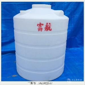 2吨白色塑料桶 2吨圆口塑料水塔