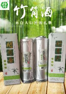 蕎麥燒竹筒酒廠家直銷鮮竹酒45度500ml送禮佳品