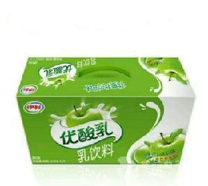 伊利优酸乳批发//原味草莓味250ml团购 伊利优酸乳价格