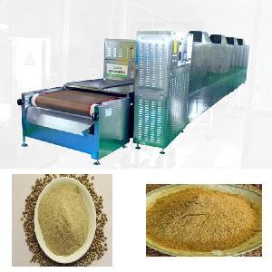 工业微波调味粉调味料杀菌干燥设备 调味品烘干机