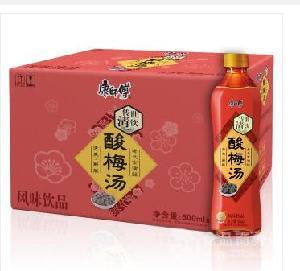 康师傅酸梅汤专卖//风味果汁饮料500ml丨批发团购丨酸梅汤价格