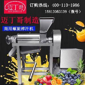 廠家螺旋榨汁機生姜工業榨汁機小黃姜榨汁機不銹鋼