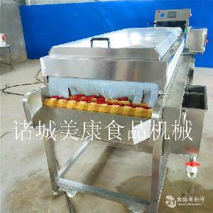 专业生产胡萝卜清洗机 萝卜高压喷淋清洗设备 胡萝卜加工清洗机