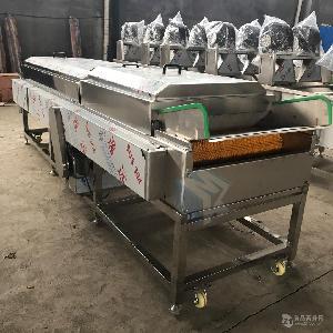 大型全自动牡蛎专用清洗机 大连海蛎子高压喷淋去泥清洗设备价格