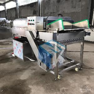 鸭梨清洗机厂家生产 定做毛辊式水果高压清洗设备 梨清洗机