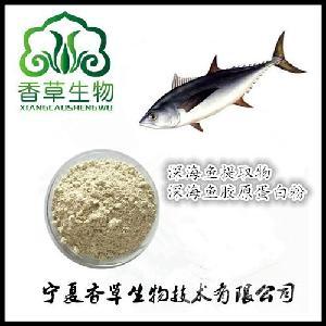 深海魚提取物價格 供應深海魚膠原蛋白肽 深海魚凍干粉 小分子肽
