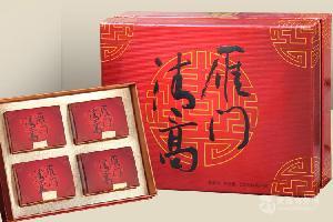 雁门清高中国红有机黑苦荞茶装礼盒352g