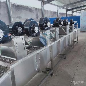 廠家直銷鹵制品鹵制風干機 豆皮攤涼風干機 水果加工清洗風干機