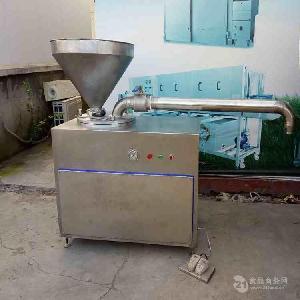 全自動氣動定量扭結灌腸機 香腸加工設備 整體304不銹鋼材質