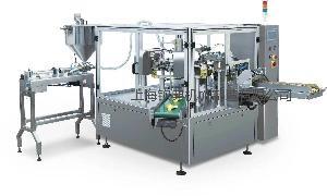 给袋式袋装酵素自动包装机 自立袋液体饮料包装设备