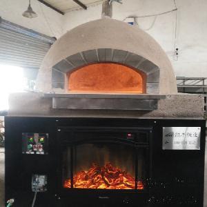 果木意式熔巖石披薩爐