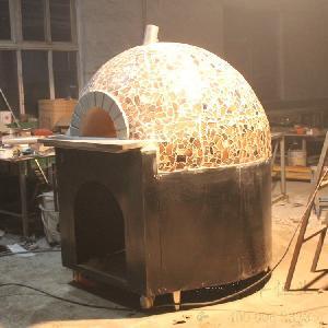 窯式熔巖石披薩爐