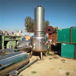 供应二手蒸发器 二手单效浓缩蒸发器