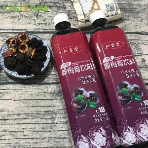 虹垂堂1kg装酸梅汤酸梅膏酸梅浓浆饭店火锅店专用1:10调配