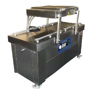 供應強大豬肉雙室真空包裝機|可傾式真空包裝機