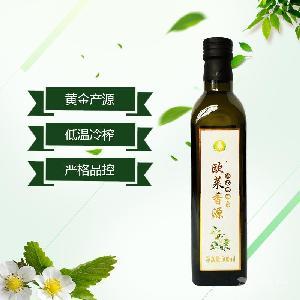歐萊香源油茶籽油嬰兒食用油寶寶孕婦月子油500ml