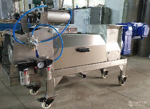 中药渣固液分离设备-新乡森科机械5吨/时中药渣压榨机厂家