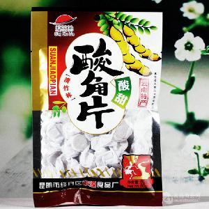 彝山香長年批發供應酸角片80gx10酸酸角果肉