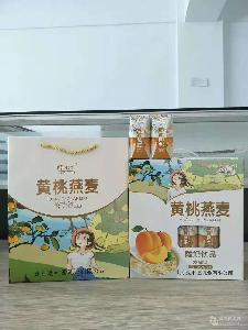 酵乐乳黄桃燕麦酸奶饮品 礼盒装
