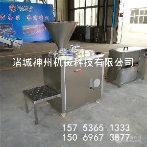 蔬菜肠灌肠机 液压灌肠机