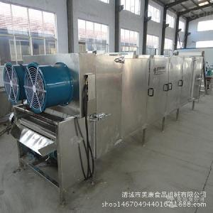 供应全自动鱼干连续式烘干机 鱿鱼干专用脱水烘干一体机