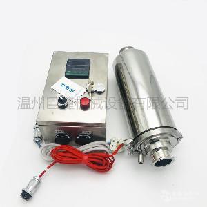 304不锈钢除菌电加热呼吸器 不锈钢控制箱保温除菌过滤器
