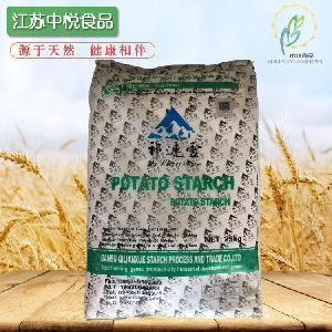 批发供应祁连雪马铃薯淀粉 食品级土豆淀粉 食品增稠剂