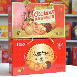 曲奇礼盒_3斤饼干礼盒