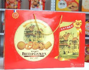 饼干包装礼盒_3斤礼盒饼干厂家