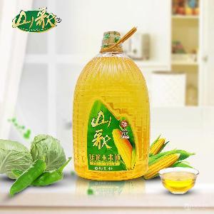 山歌一级玉米油5L 非转基因黄金产地压榨玉米胚芽油