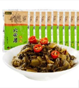 六必居 咸菜 雪菜 下飯菜方便小菜 80g10袋 中華老字號