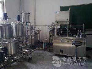 实验型果蔬汁生产线