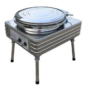 华美自动恒温电热铛YXD45-J 双控电饼铛 烙饼机 煎饼机