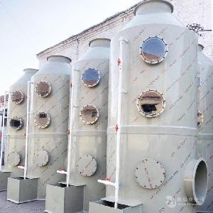 pp喷淋废气处理设备 水喷淋塔净化器