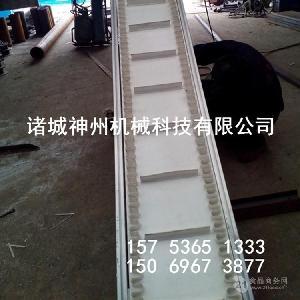 爬坡提升输送机 物流运输流水线 蔬菜输送提升机