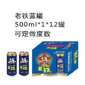老铁蓝罐500ml*1*12罐