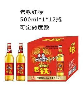 老铁红标500ml*1*12瓶