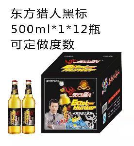 东方猎人黑标500ml*1*12瓶