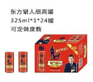 东方猎人细高罐325ml*1*24罐