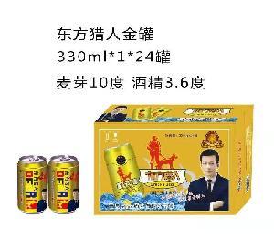 东方猎人金罐330ml*1*24罐