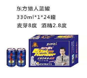 东方猎人蓝罐330ml*1*24罐