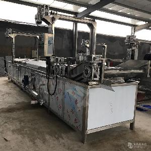 全自动蒸鸭专用蒸煮机 大型肉制品蒸煮流水线 肉制品加工设备