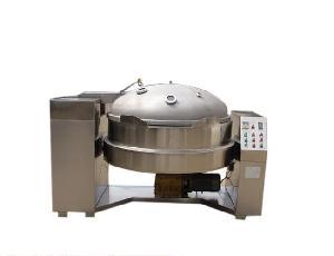 真空莲蓉炒锅设备生产线