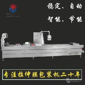 嘉晟牌DLZ-420/520宽粉拉伸膜包装机厂家直